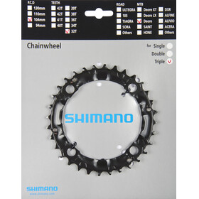 Shimano Deore FC-M480 Kettenblatt schwarz
